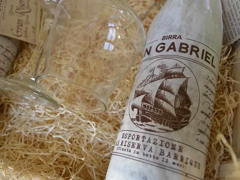 San Gabriel export etichetta